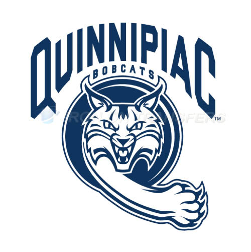 Quinnipiac Bobcats Logo T-shirts Iron On Transfers N5968