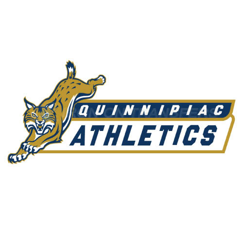 Quinnipiac Bobcats Logo T-shirts Iron On Transfers N5971