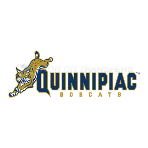 Quinnipiac Bobcats Logo T-shirts Iron On Transfers N5972
