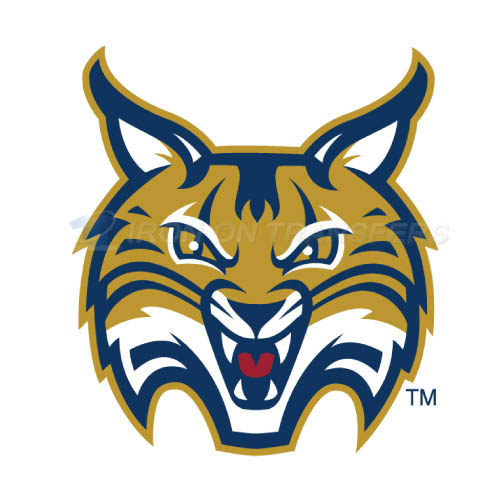 Quinnipiac Bobcats Logo T-shirts Iron On Transfers N5973