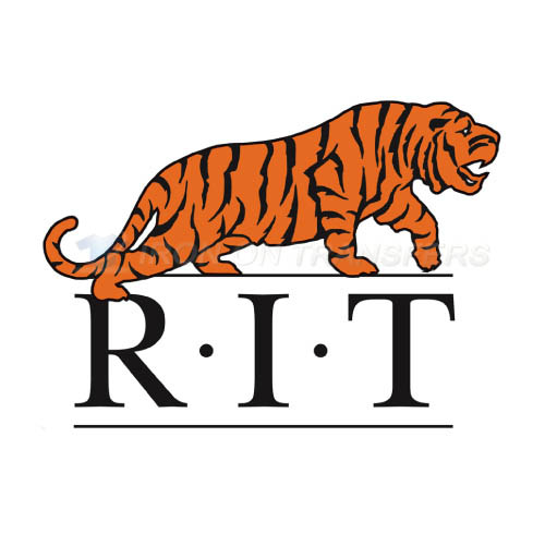 RIT Tigers Logo T-shirts Iron On Transfers N6010