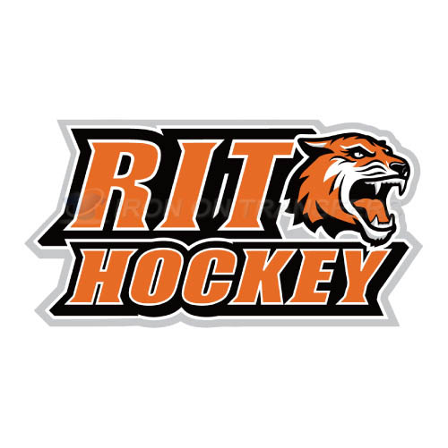 RIT Tigers Logo T-shirts Iron On Transfers N6019