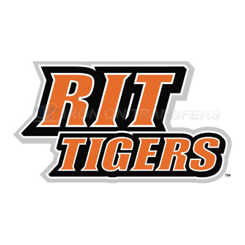 RIT Tigers Logo T-shirts Iron On Transfers N6021
