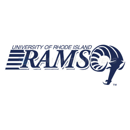 Rhode Island Rams Logo T-shirts Iron On Transfers N5981