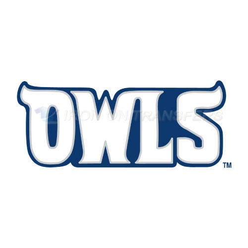 Rice Owls Logo T-shirts Iron On Transfers N5989