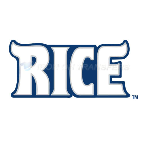 Rice Owls Logo T-shirts Iron On Transfers N5993