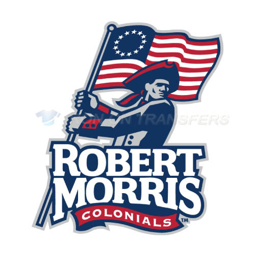 Robert Morris Colonials Logo T-shirts Iron On Transfers N6025