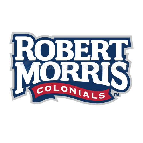 Robert Morris Colonials Logo T-shirts Iron On Transfers N6031
