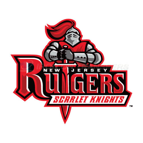Rutgers Scarlet Knights Logo T-shirts Iron On Transfers N6034