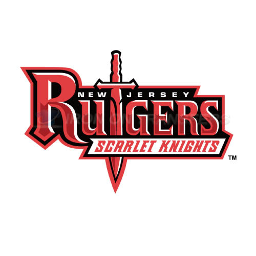 Rutgers Scarlet Knights Logo T-shirts Iron On Transfers N6042