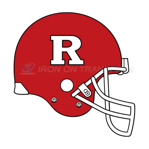 Rutgers Scarlet Knights Logo T-shirts Iron On Transfers N6047