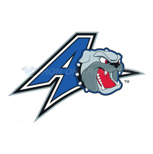 UNC Asheville Bulldogs Logo T-shirts Iron On Transfers N6048