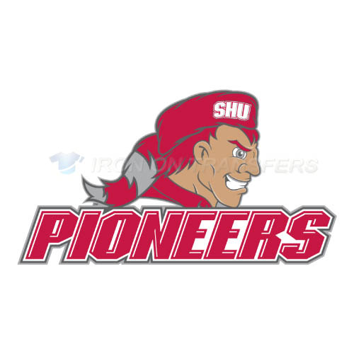 Sacred Heart Pioneers Logo T-shirts Iron On Transfers N6050