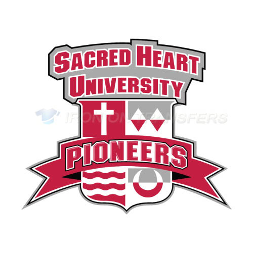 Sacred Heart Pioneers Logo T-shirts Iron On Transfers N6063