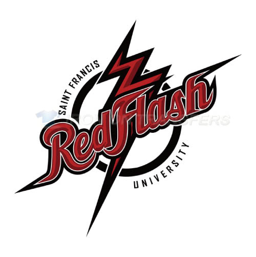 Saint Francis Red Flash Logo T-shirts Iron On Transfers N6066