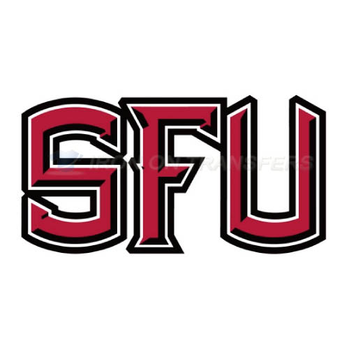 Saint Francis Red Flash Logo T-shirts Iron On Transfers N6067
