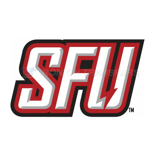Saint Francis Red Flash Logo T-shirts Iron On Transfers N6068