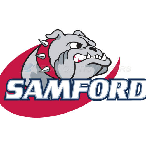 Samford Bulldogs Logo T-shirts Iron On Transfers N6089