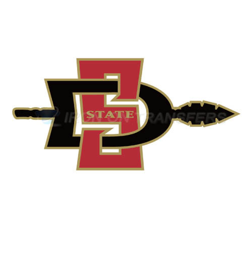 San Diego State Aztecs Logo T-shirts Iron On Transfers N6097