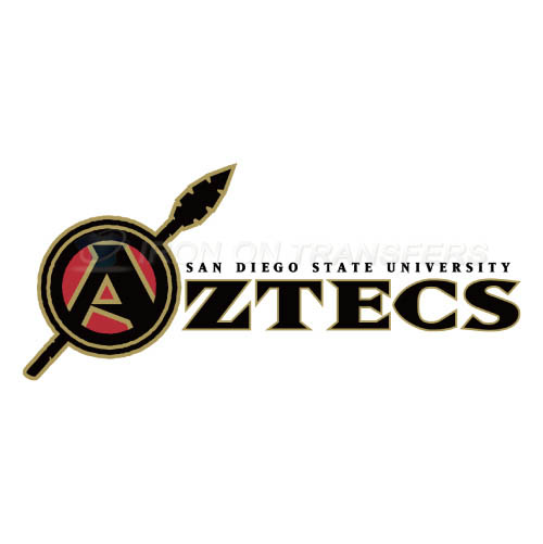 San Diego State Aztecs Logo T-shirts Iron On Transfers N6104