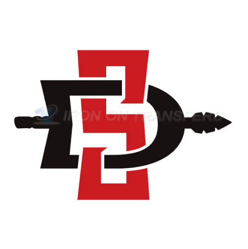 San Diego State Aztecs Logo T-shirts Iron On Transfers N6106