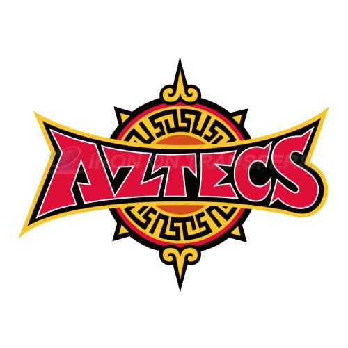 San Diego State Aztecs Logo T-shirts Iron On Transfers N6107