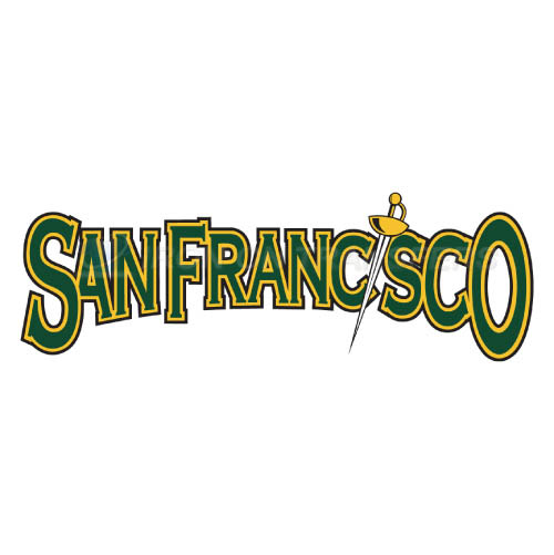 San Francisco Dons Logo T-shirts Iron On Transfers N6125