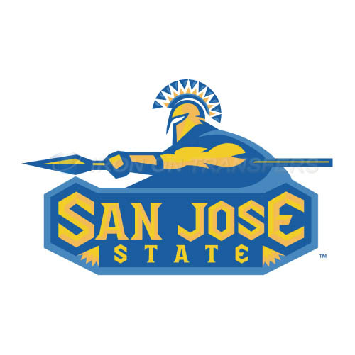 San Jose State Spartans Logo T-shirts Iron On Transfers N6129