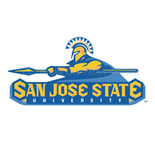 San Jose State Spartans Logo T-shirts Iron On Transfers N6130