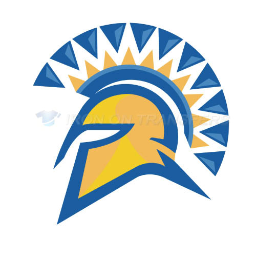 San Jose State Spartans Logo T-shirts Iron On Transfers N6132