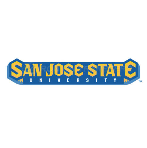 San Jose State Spartans Logo T-shirts Iron On Transfers N6133