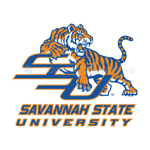 Savannah State Tigers Logo T-shirts Iron On Transfers N6140