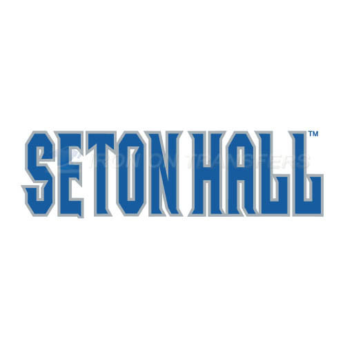 Seton Hall Pirates Logo T-shirts Iron On Transfers N6163