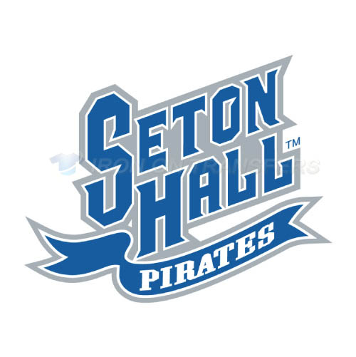 Seton Hall Pirates Logo T-shirts Iron On Transfers N6166