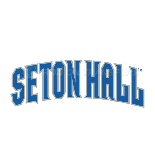 Seton Hall Pirates Logo T-shirts Iron On Transfers N6168