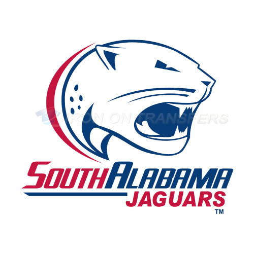 South Alabama Jaguars Logo T-shirts Iron On Transfers N6185