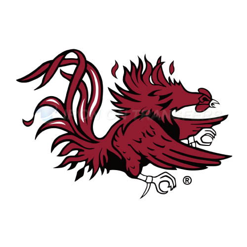 South Carolina Gamecocks Logo T-shirts Iron On Transfers N6196
