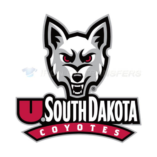 South Dakota Coyotes Logo T-shirts Iron On Transfers N6209