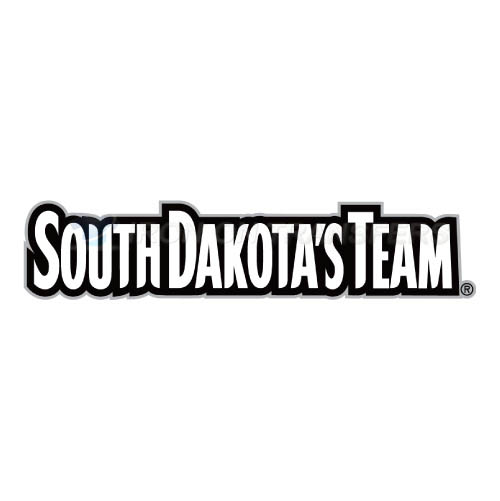 South Dakota Coyotes Logo T-shirts Iron On Transfers N6210