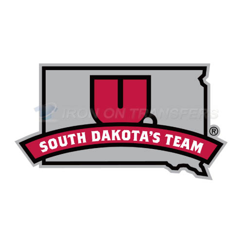 South Dakota Coyotes Logo T-shirts Iron On Transfers N6213