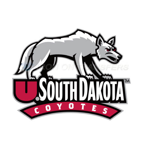 South Dakota Coyotes Logo T-shirts Iron On Transfers N6217