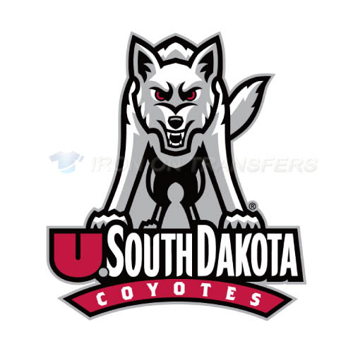 South Dakota Coyotes Logo T-shirts Iron On Transfers N6219