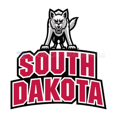 South Dakota Coyotes Logo T-shirts Iron On Transfers N6220