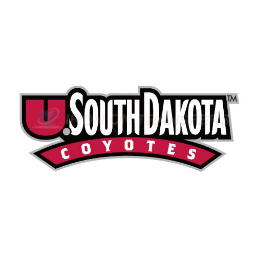 South Dakota Coyotes Logo T-shirts Iron On Transfers N6222
