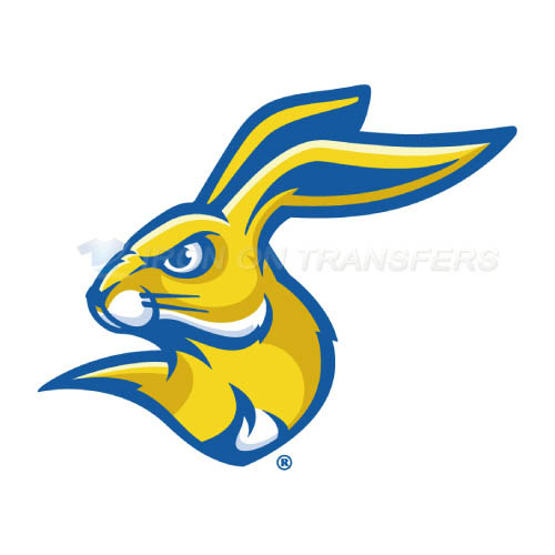 South Dakota State Jackrabbits Logo T-shirts Iron On Transfers N