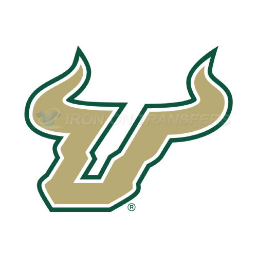 South Florida Bulls Logo T-shirts Iron On Transfers N6243