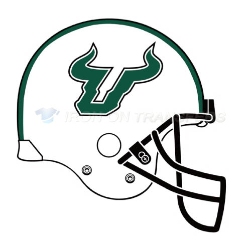 South Florida Bulls Logo T-shirts Iron On Transfers N6244