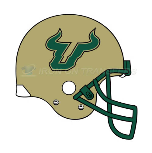 South Florida Bulls Logo T-shirts Iron On Transfers N6245