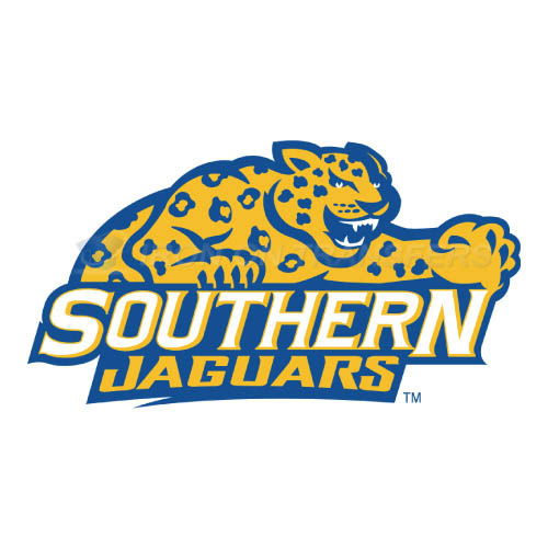 Southern Jaguars Logo T-shirts Iron On Transfers N6281