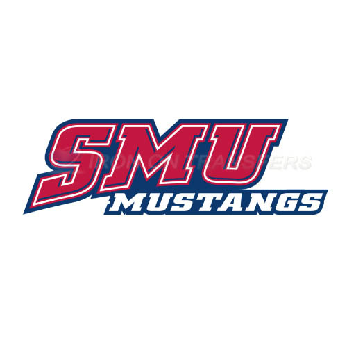 Southern Methodist Mustangs Logo T-shirts Iron On Transfers N629